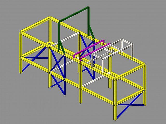 Kovinska konstrukcija Ecoplast Redwave (A)