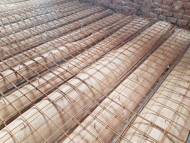 Priprava površin za sovprežni leseno-betonski strop